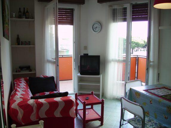 sala con balcone